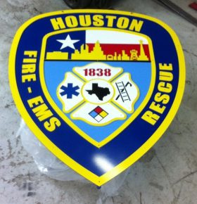 Sign - Houston Fire Department Training Academy