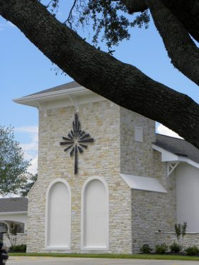 Exterior Cross - Spring Cypress Presbyterian Church