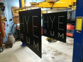Sign - Hye Rum Outdoor