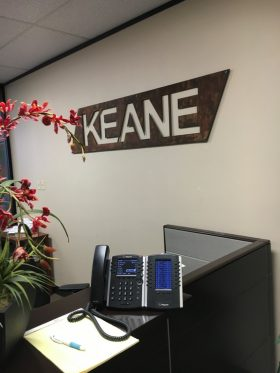 Sign - Keane Group Office