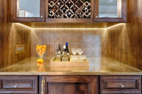 Brass Counter - Private Home
