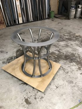 Stainless Steel Tube table base