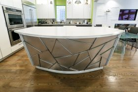 Kitchen island decoration