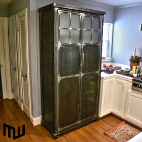 Steel kitchen cabinet