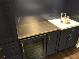 Brass counter top - Folkes