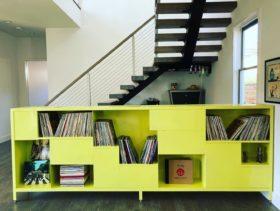 Cabinet - Yellow