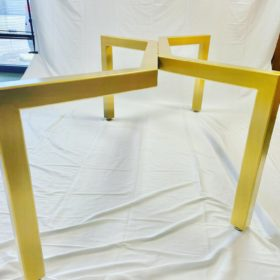 Gold Table Base