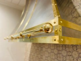 Brass and Stainless Vent Hood - 1