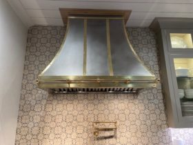 Brass and Stainless Vent Hood - 2